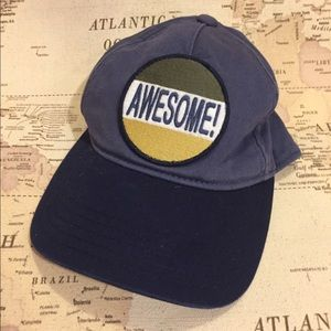 "Gymboree ""awesome"" hat"